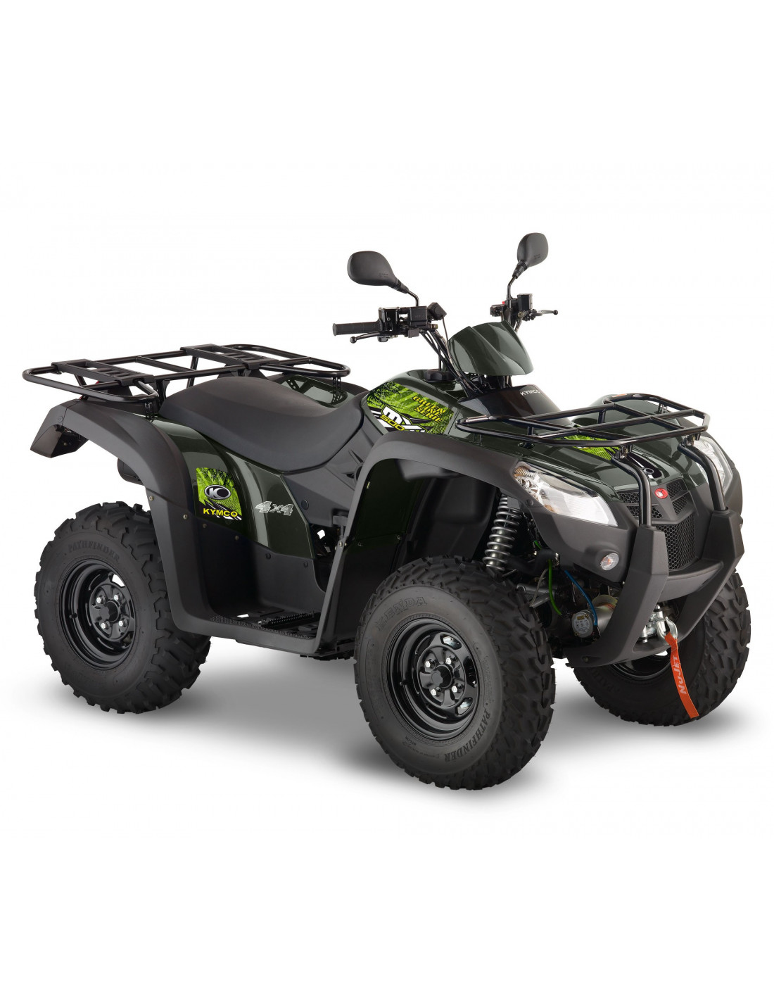 quad kymco 500 mxu irs 4x4 green line serie. Black Bedroom Furniture Sets. Home Design Ideas